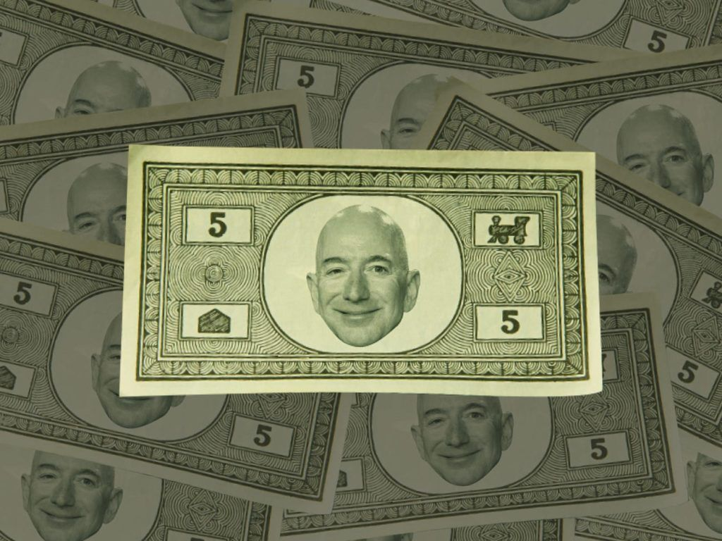 jeff bezos money